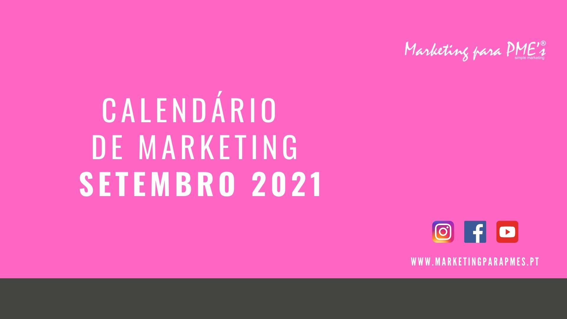 Calendario marketing